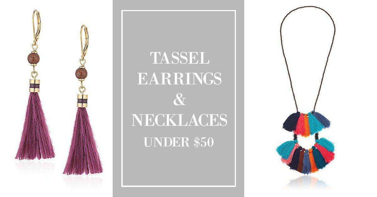 These Tassel Earrings & Necklaces Under $50 Are Pretty As Can Be