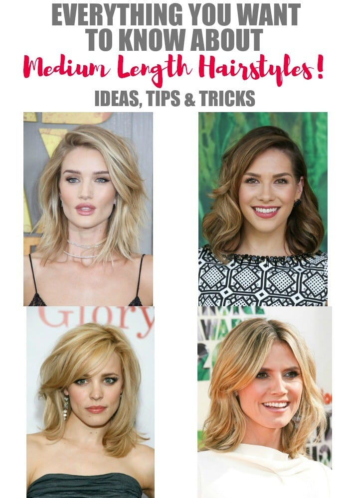 Are you searching for ideas for new a'do? We've pulled together everything you need and want to know about medium length hairstyles. From finding just the right cut and styling it, to the products that will help take care of your hair and make it do what you want it to. Doesn't that sound amazing?!