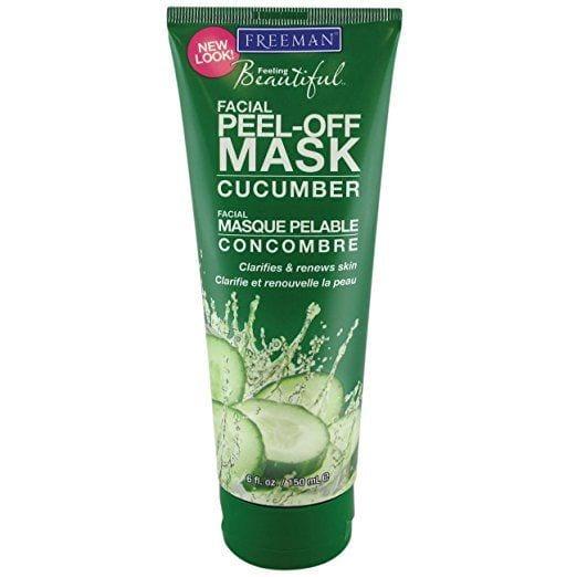 cucumber facial peel off mask