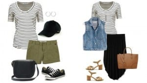 8 Ways to Wear a Striped Top This Summer