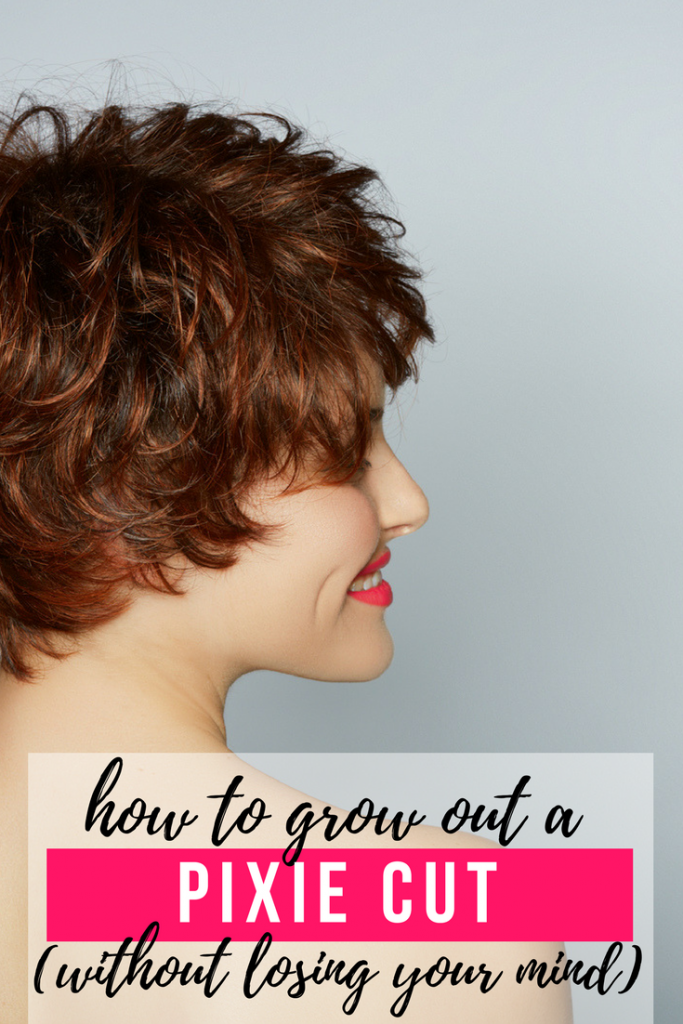 How to grow our a pixie cut