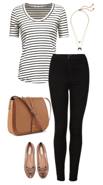 One black and white striped shirt + eight striped shirt outfit ideas. This classic piece of clothing can help you create an endless amount of outfits you feel good in this summer.