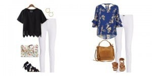 How to Wear White Jeans in Summer + Outfit Ideas to Copy!