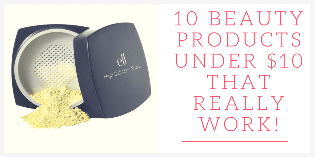 Are you on the hunt for beauty products under $10 that actually do what they say? Keep reading to find out about the best of the best!