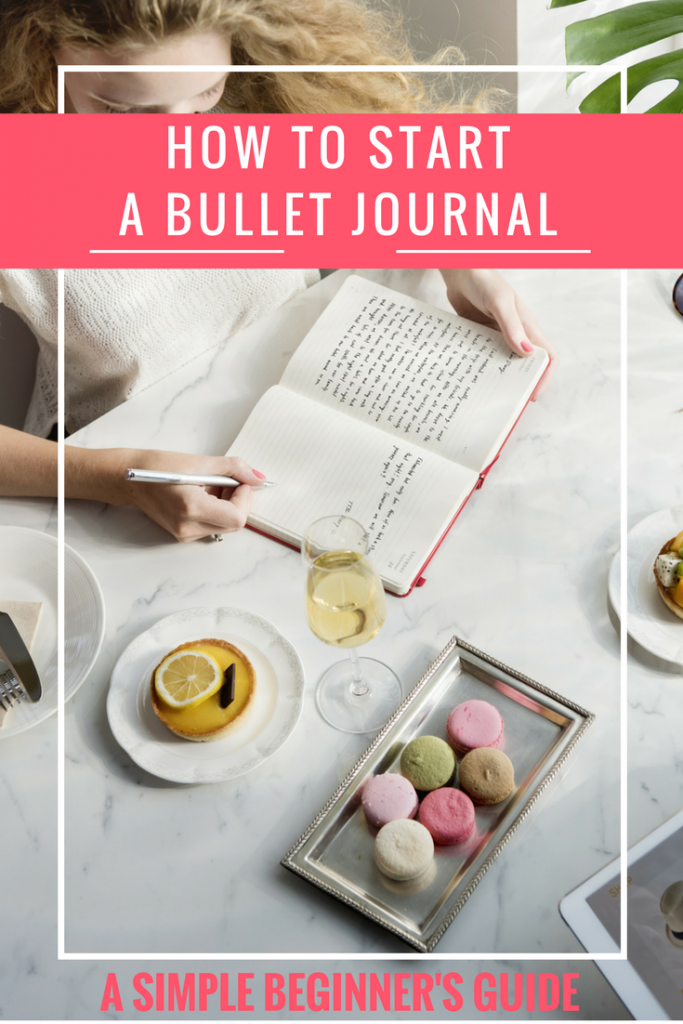 Are you curious about how to start a bullet journal? If you love all things organization + getting creative, a bullet journal is a great way to tap into both of those things.