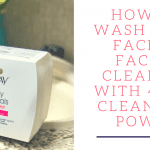 How to Wash Your Face: The Best Cleansing Cloth with 4-in-1 Cleansing Power