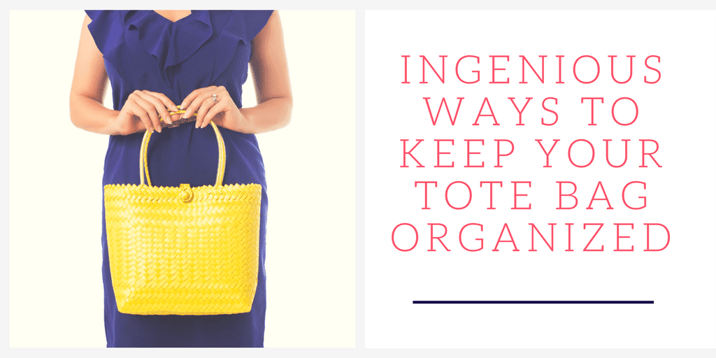 Ingenious ways to keep your tote bags organized