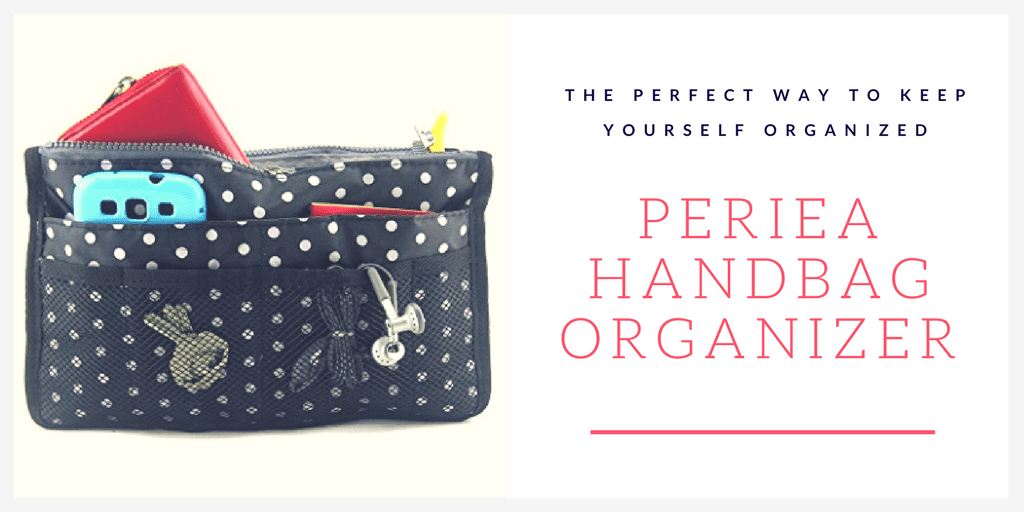 Periea Handbag Organizer - the perfect way to keep your totes and handbags organized.