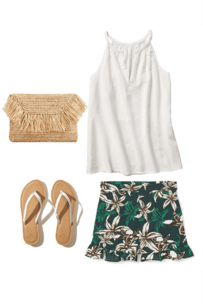 Are you dreaming of white sand beaches and a golden glow on your skin? Here are 5 summer outfit ideas that have a fabulous island vibe fashion to them. Actual beach not required.