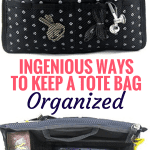 Ingenious Ways to Keep Your Tote Bag Organized