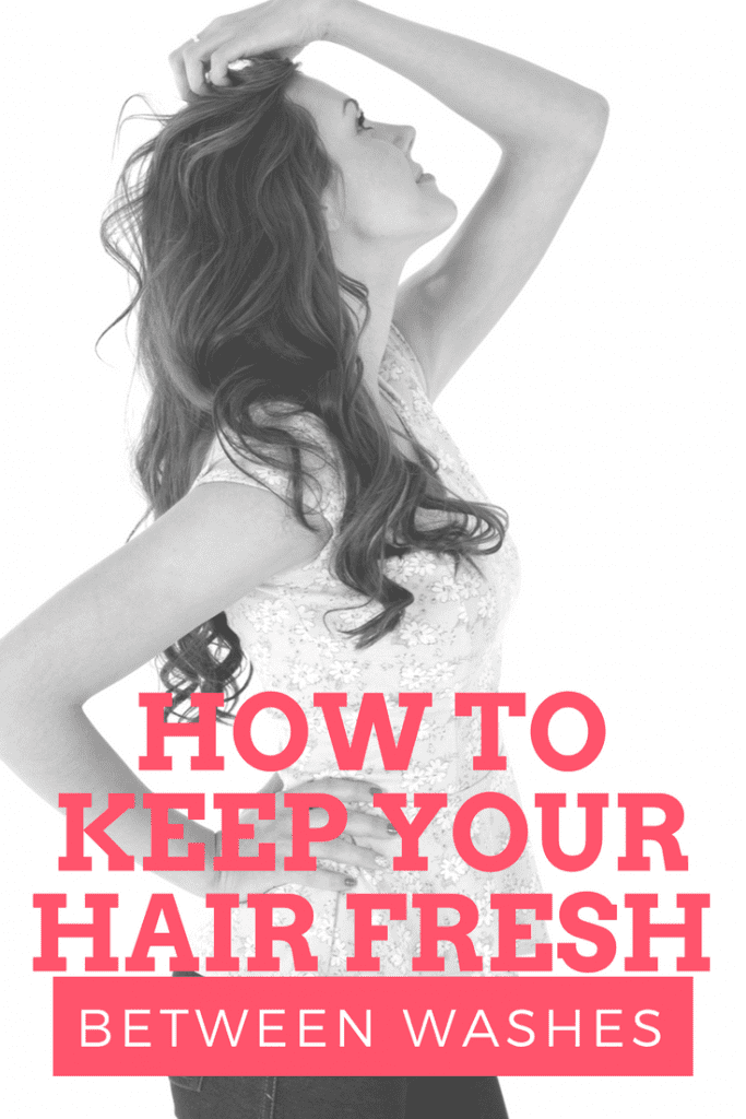 How to Keep Your Hair Fresh Between Washes: When you're busy or you just need to give your hair a break from all of the washing, conditioning, and styling, there are plenty of ways to keep your hair looking fresh, as if you just washed it.