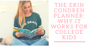 The Erin Condren Planner: Why It Works For College Kids