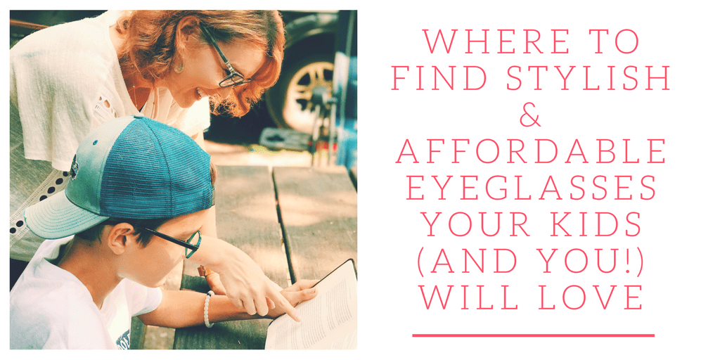 Are you on the hunt for stylish and affordable eyeglasses for kids (and for you!) that they'll love? Look no further! I have all the deets on where to find the hottest brands for an affordable price.