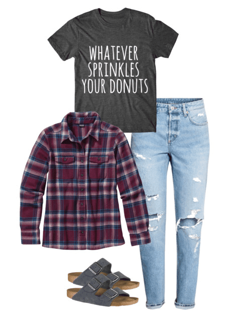 Don't let deciding what to wear stress you out! These eight back to school outfits for highschool will get you started out on the right foot.