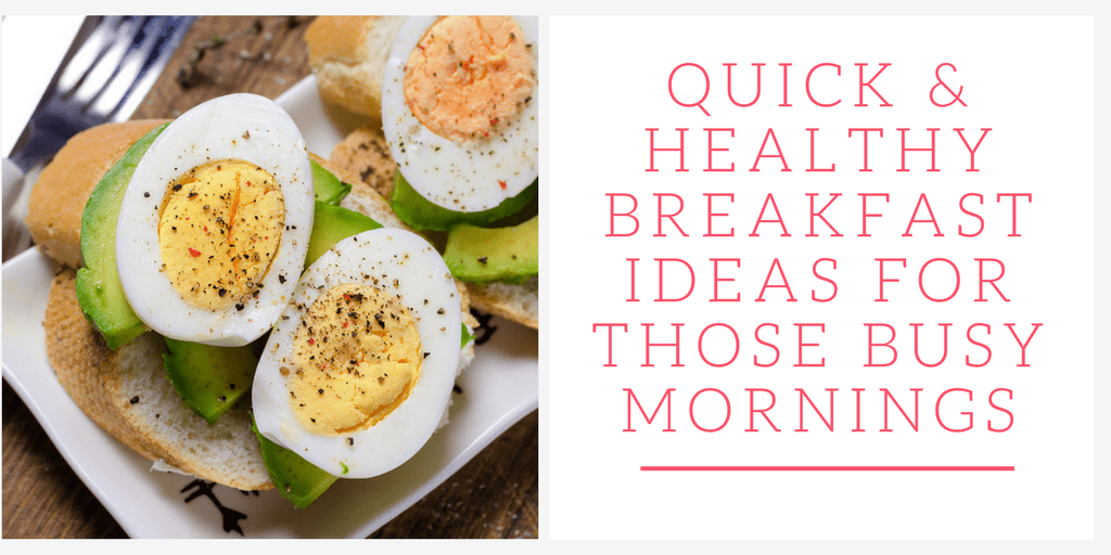 From quick smoothies to eggs and greens, these healthy breakfast ideas will help you start your morning off on the right foot.
