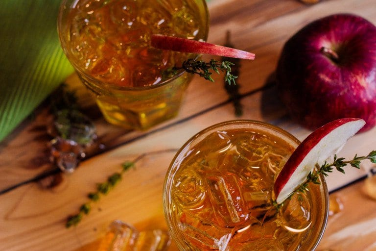 Grab your sweater, maybe a blanket and get ready to sip on one of these ten fall cocktails. These are perfect to slowly sip on a cool, crisp fall evening.