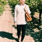 How to Dress Up Leggings: A Layered Fall Outfit Idea