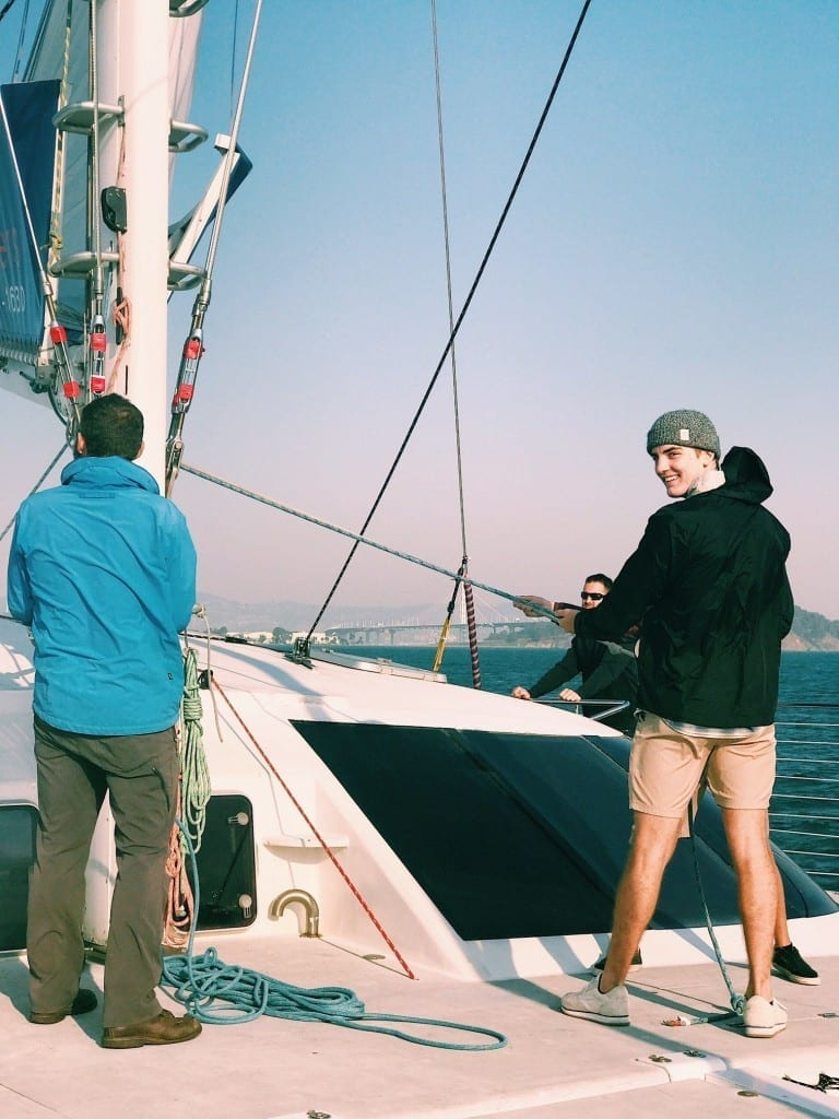 What do you do when you have a day to spend in San Francisco? You go sailing of course! We went sailing San Francisco with Adventure Cat Sailing Charters and have deemed this a must do activity.