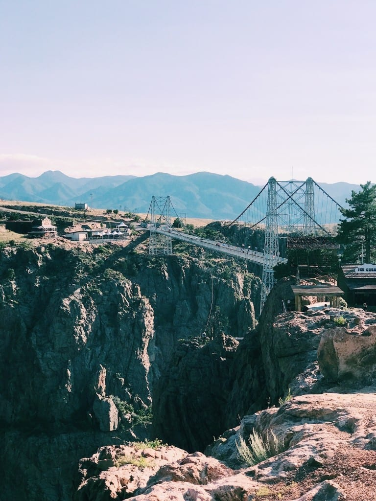 The Royal Gorge in Colorado