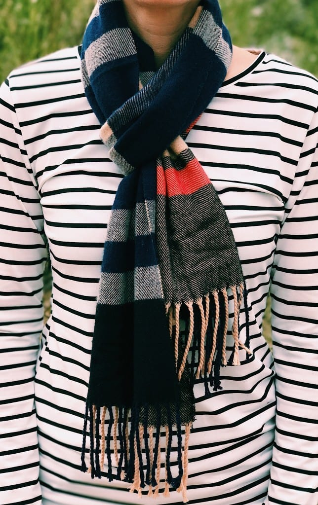 Winter essentials for women: scarf