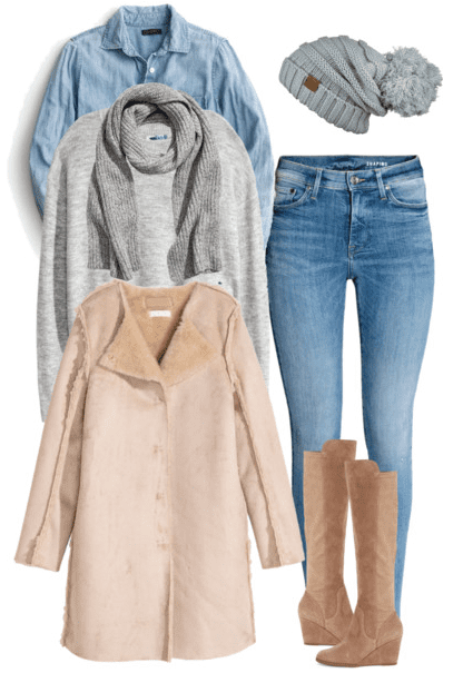 January What to Wear This Month features 15 January outfit ideas