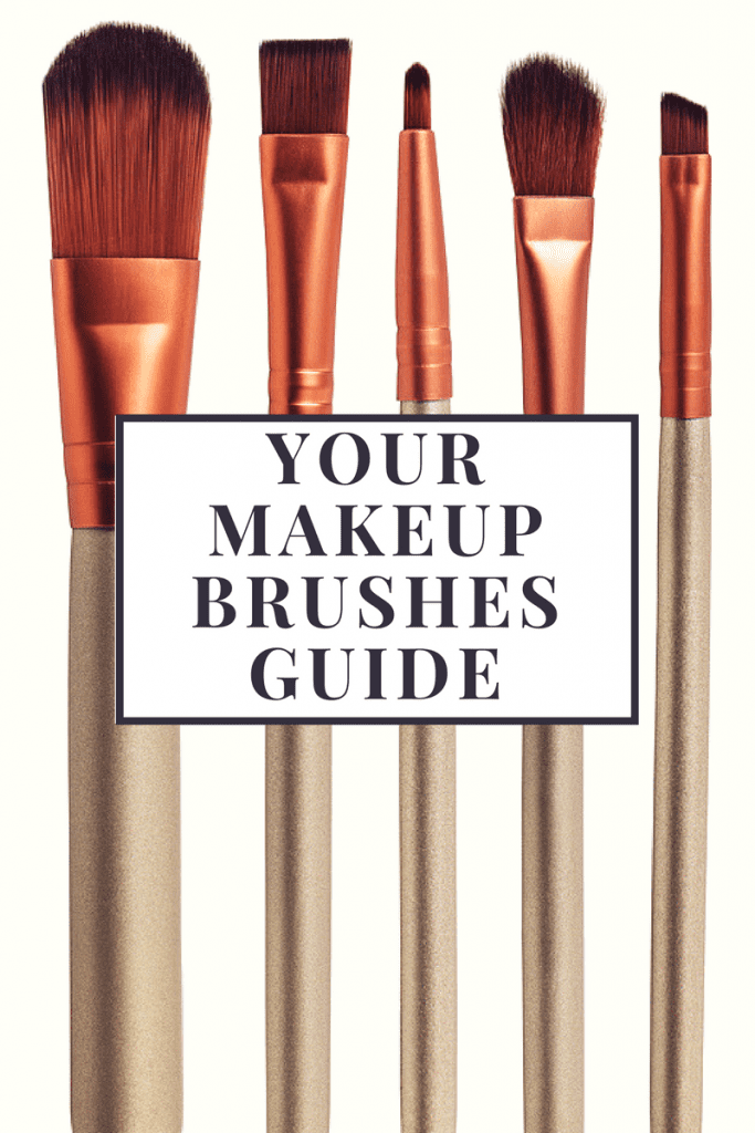 Your makeup brushes guide: How to use the different types of brushes.  In the world of makeup, there is something for everything. If you have a problem, there is a product for it. It's the exact same thing with makeup brushes. For each product, there is a brush, or several brushes, that go with it.  Unfortunately, with the number of different brushes there are nowadays, this can get overwhelming and confusing. But not to worry! Today I'm going to give you the lowdown on what each brush is and what it's used for.  Here are 7 different types of makeup brushes and what they do.