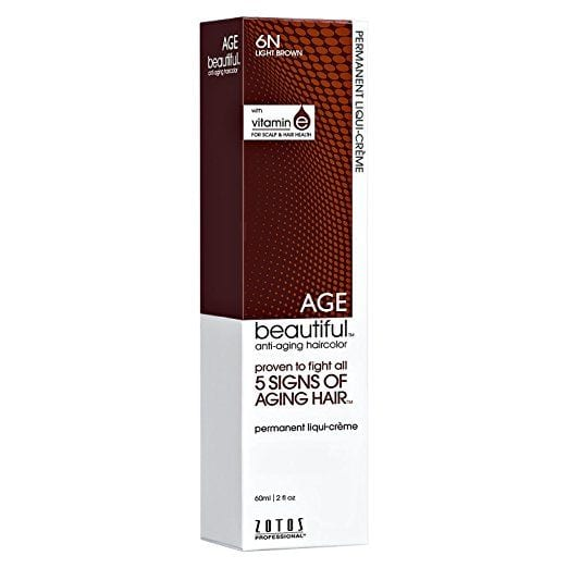 Best at home hair color brands: Zotos Age Beautiful