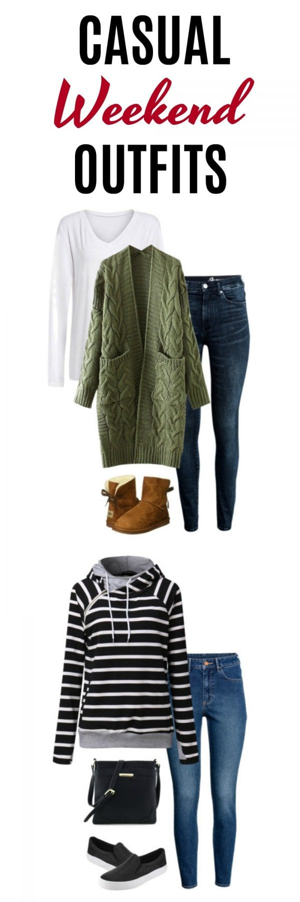 Ideas for Weekend Outfits