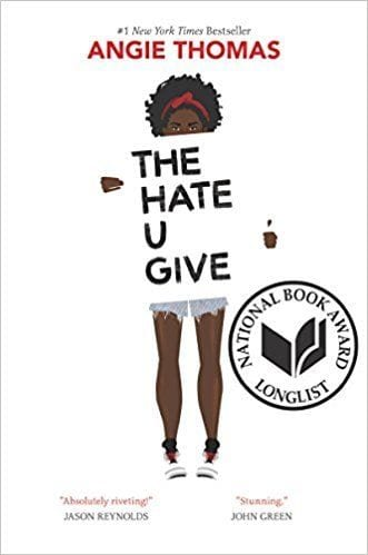Fiction books worth reading: The Hate U Give by Angie Thomas