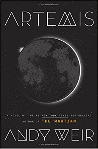 Fiction Books Worth Reading:  Artemis by Andy Weir