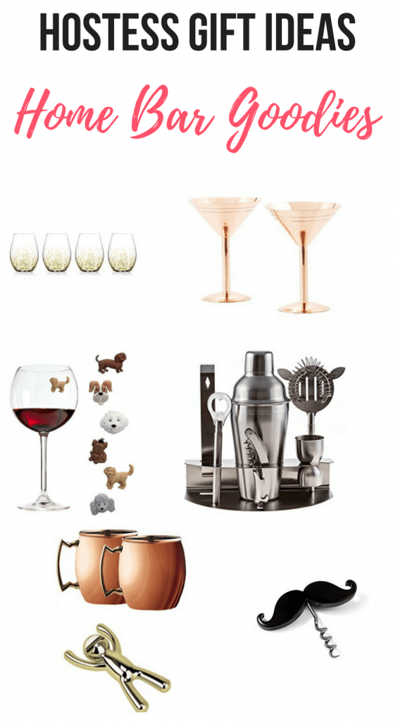 These home bar goodies are the perfect hostess gift for your wine-loving friend or get some ideas for your personal home bar.