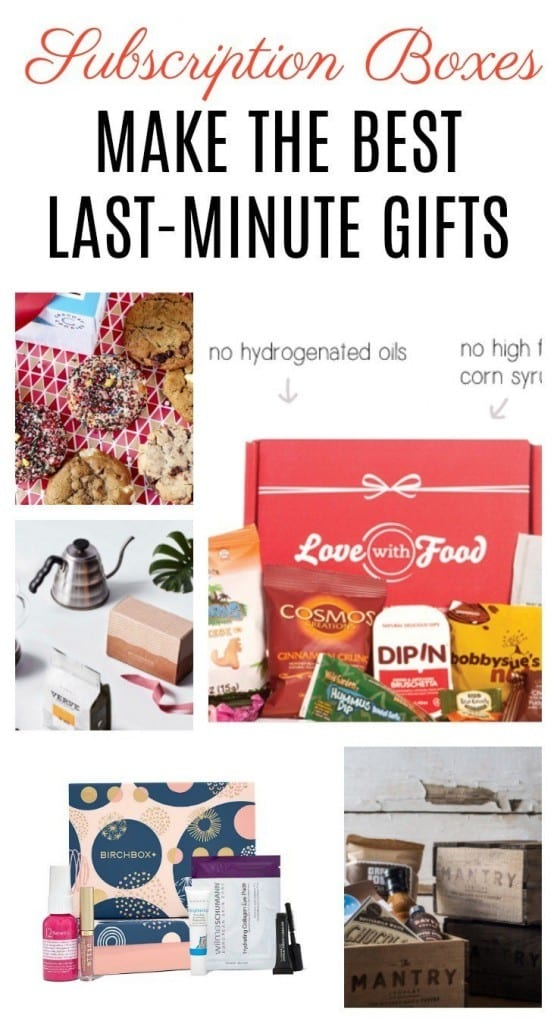 Are you looking for some of the best subscription boxes for gift giving? We've rounded some great ones for food, fashion, wine and beauty lovers.