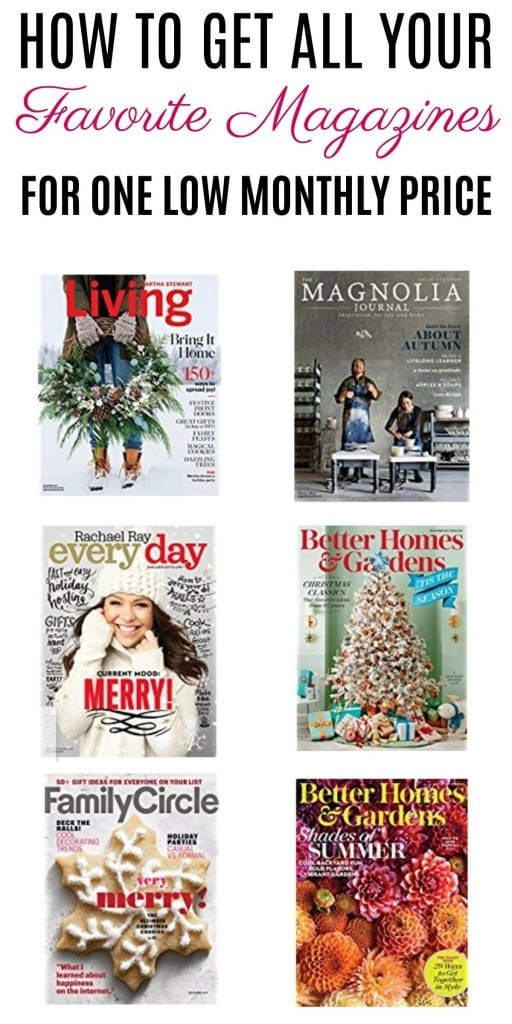 Do you love your monthly magazines? What if you could have access to over 200 of them every single month for one low price? You can! Check out all of the info about the Texture app and be'flipping' through your favorites today.