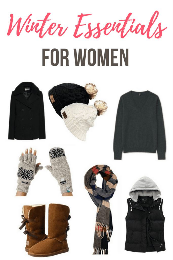 Winter essentials for women - Stay warm and cozy in this winter, as well as stylish, in these fun winter fashion picks. From beanies and a scarf, to a pea coat and cutest as can be boots.