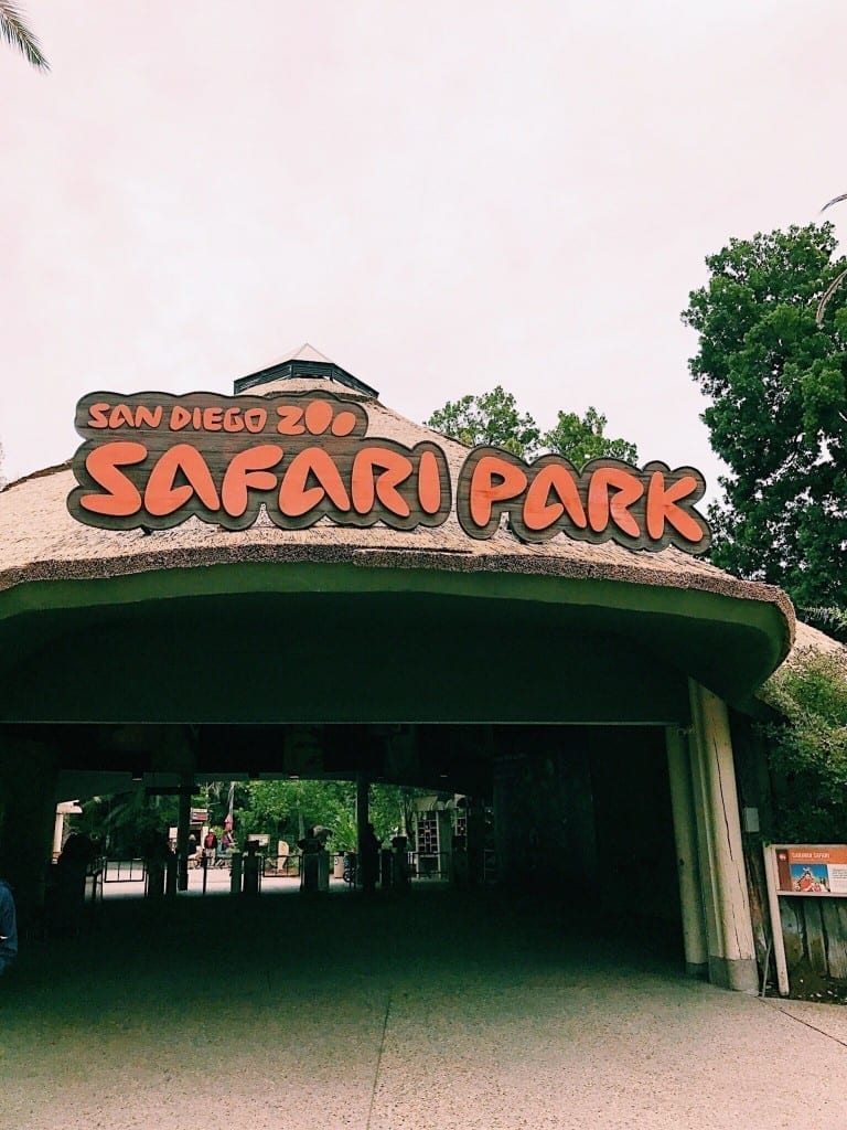 The entrance of the San Diego Zoo Safari Park
