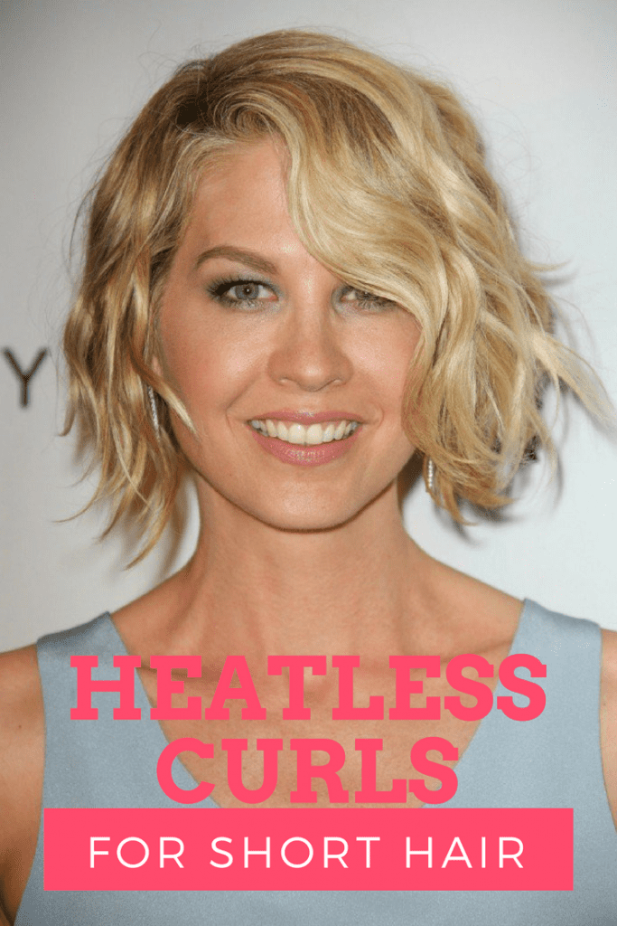 How to get heatless curls for short hair