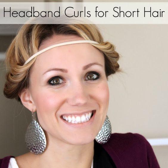 Heatless Curls For Short Hair Tips Overnight Curling Techniques Headbands Best No Heat Curlers