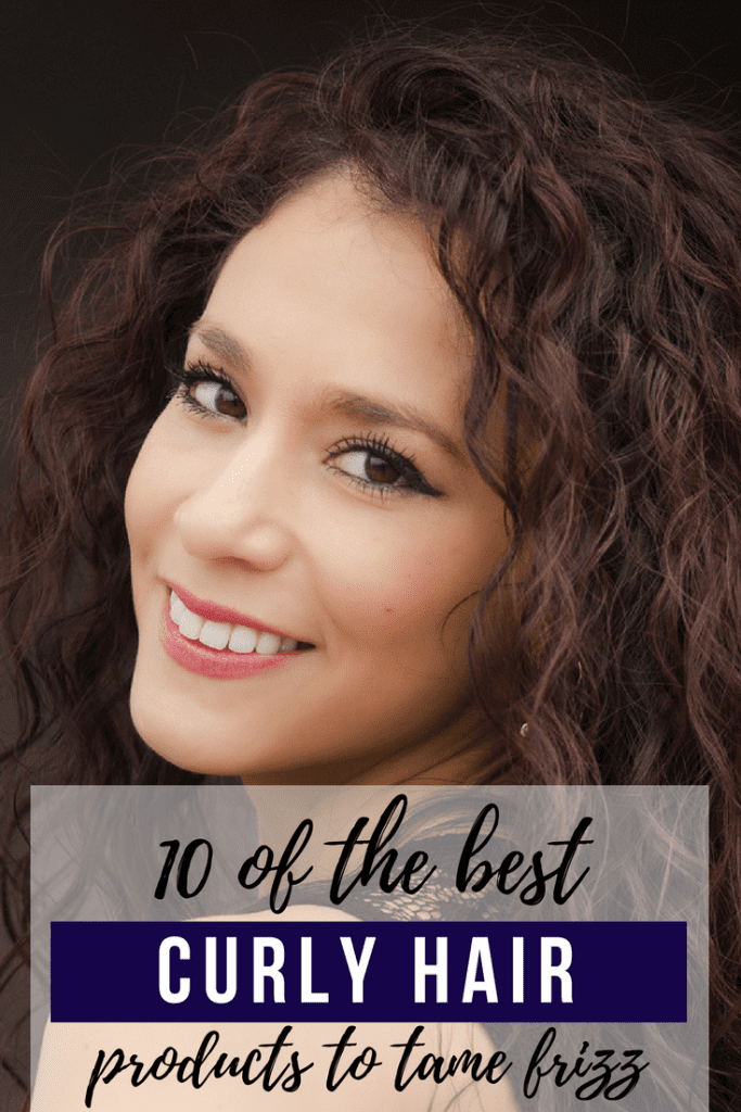 how to make curly hair shine