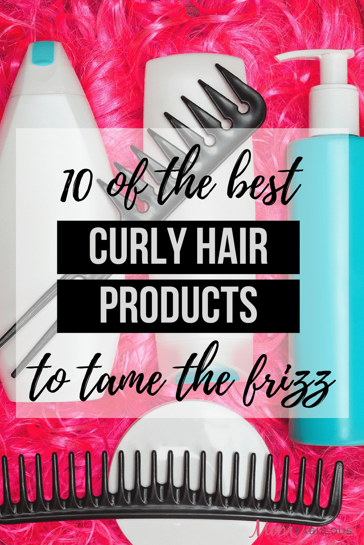 10 of the Best Curly Hair Products to Tame the Frizz