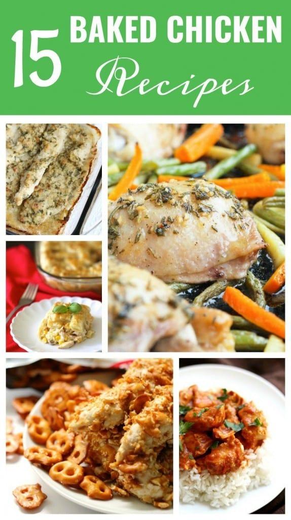 15 Baked Chicken Recipes