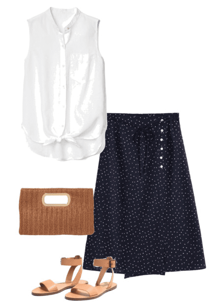 5 ways to wear polka dots