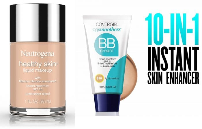 Foundation with SPF