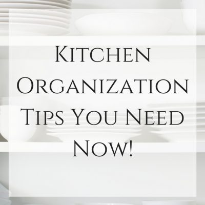 Kitchen Organization Ideas You Need Now!