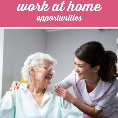 Registered Nurse? Work at Home Opportunities