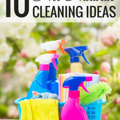 10 All Natural Cleaning Ideas for Your Home