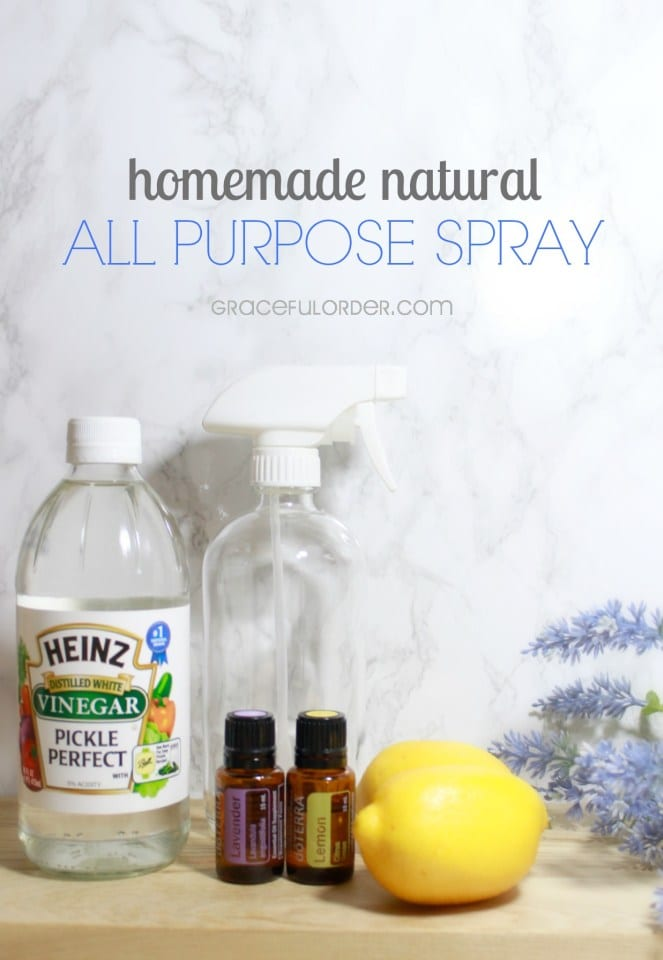 10 all natural cleaning ideas that are perfect for your home! Did you know that natural cleaners can be just as effective as those from the store?
