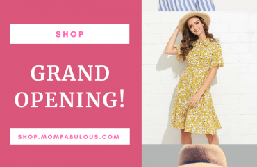 Look Fabulous, Feel Fabulous, Shop Fabulous! – The Mom Fabulous Shop is Now Open!