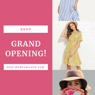 Look Fabulous, Feel Fabulous, Shop Fabulous! – The Mom Fabulous Shop is Now Open!
