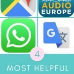 The 4 Most Helpful Travel Apps