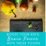 Boost Your Kid's Brain Power With These Foods